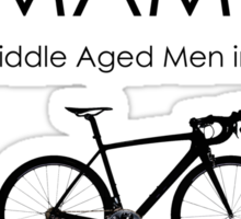 Cycling T Shirt - MAMIL (middle aged men in lycra) Behavior Sticker