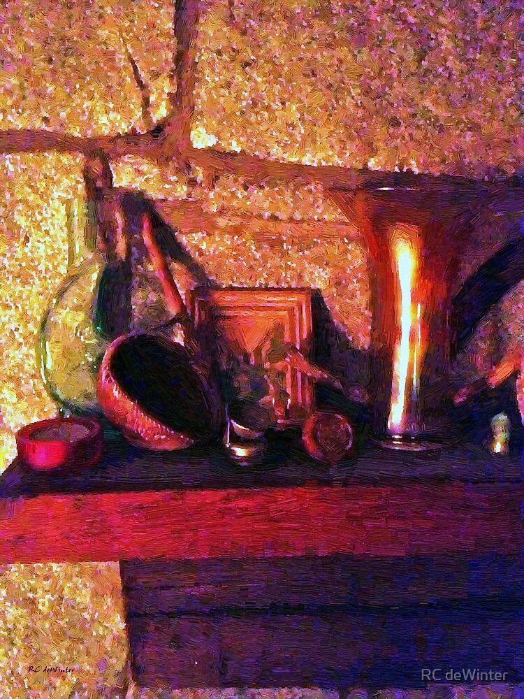 On the Mantelpiece by RC deWinter