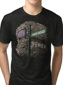 Friends: 15, Yemen Road, Yemen Tri-blend T-Shirt