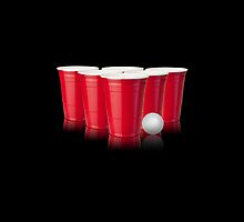 Beer Pong by TinaGraphics