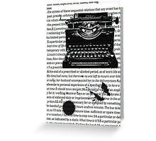 Letters To Saul Greeting Card