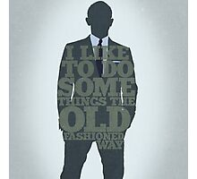 Skyfall - James Bond: The Old Fashioned Way Photographic Print
