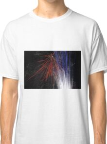 Night light sparkles a colourful delight Classic T-Shirt