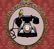 Telephone by AxiomaticArt