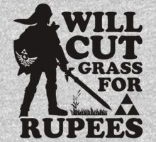 Cut Some Grass for some Rupees by Look Human