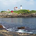 Cape Neddick Light by William Brennan