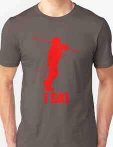 I Ski Red T-Shirt