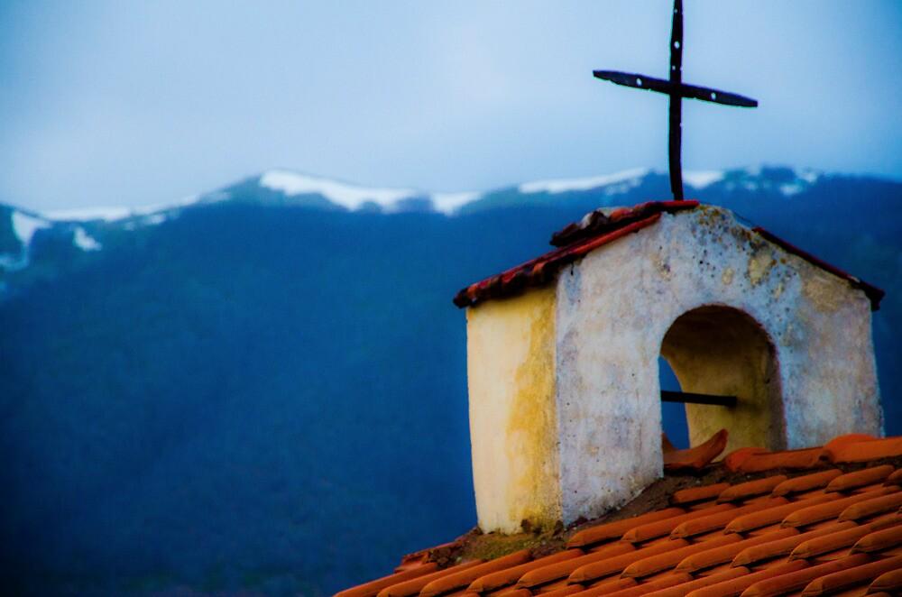 Old Church Greece by Sotiris Filippou