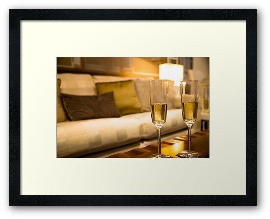 Champagne For Two by Sotiris Filippou