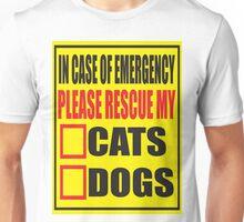 Rescue My Pets Unisex T-Shirt
