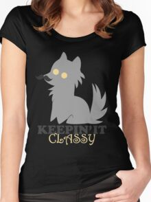 Keepin' it Classy Women's Fitted Scoop T-Shirt