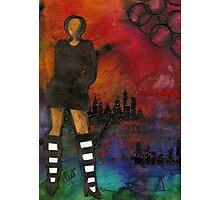 Urban Girl Wanna Be Photographic Print