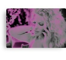 Angel in Pink Canvas Print
