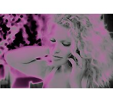 Angel in Pink Photographic Print