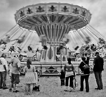 Life's a carousel by Paul Hickson