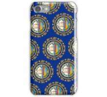 Smartphone Case - State Flag of New Hampshire - Vertical III iPhone Case/Skin