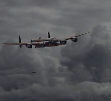 Avro Lancaster - Heavy Weather by warbirds