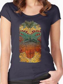 Kaiju Groupie Women's Fitted Scoop T-Shirt