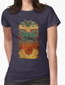 Kaiju Groupie Womens Fitted T-Shirt