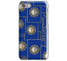 Smartphone Case - State Flag of New Hampshire - Vertical IV iPhone Case/Skin