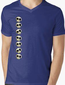 Skulls!!! Mens V-Neck T-Shirt