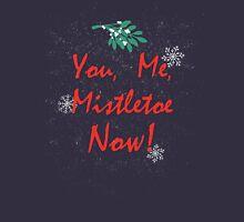 You, Me, Mistletoe Women's Fitted Scoop T-Shirt