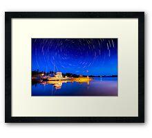 Two hours Before Dawn - Leech Lake, MN  Framed Print