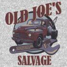Breaking Bad Inspired - Old Joe's Salvage - Junk Yard - AMC Breaking Bad by traciv