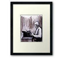 One Of Those On Whom Nothing Is Lost Framed Print