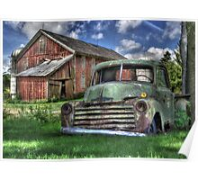 The Farm Truck Poster