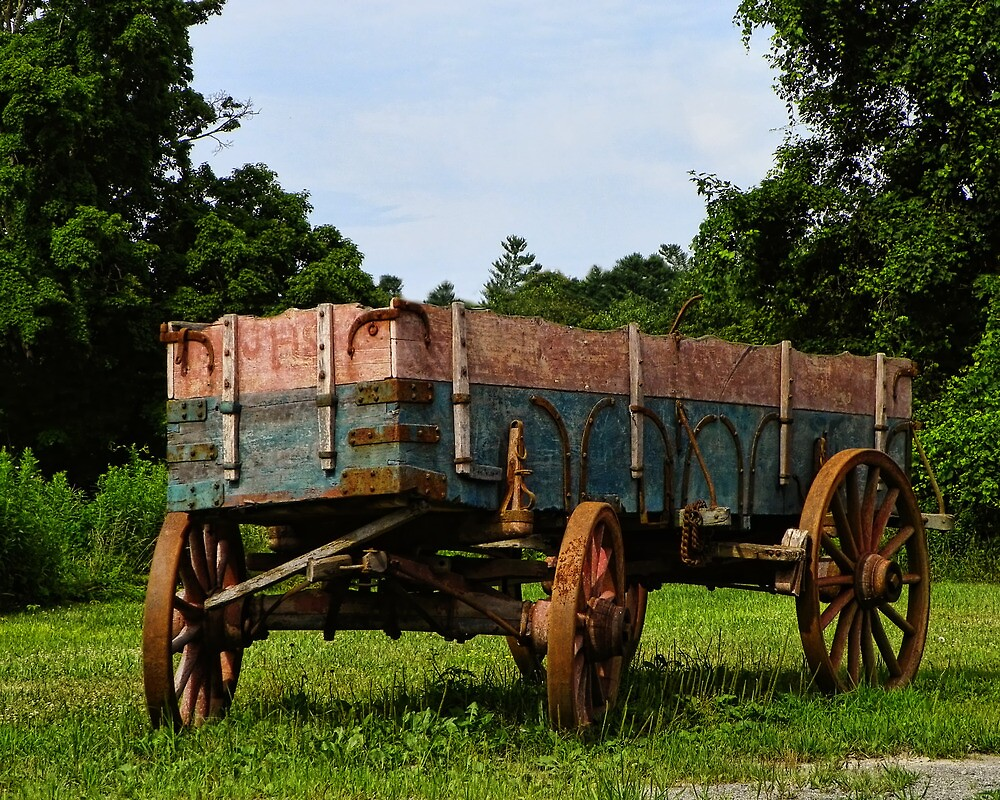 Travel by Wagon by PineSinger