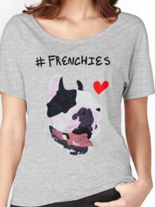 #FRENCHIES Women's Relaxed Fit T-Shirt