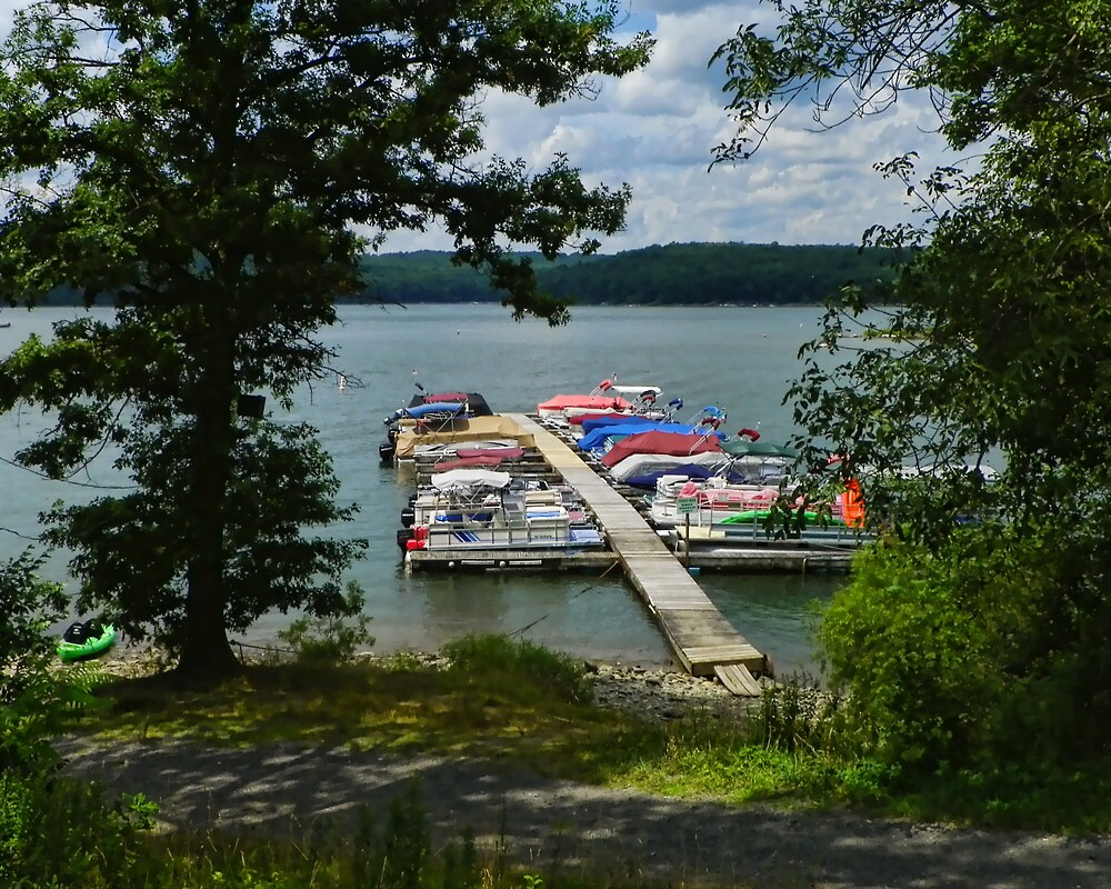 Lake Wallenpaupak by PineSinger