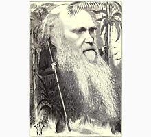 19th Century caricature of Charles Darwin Unisex T-Shirt