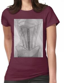 19th Century X-ray of a corset Womens Fitted T-Shirt
