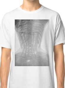 19th Century X-ray of a corset 2 Classic T-Shirt