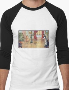 Early 20th Century images of France in 2000 - Automated Cleaning Men's Baseball ¾ T-Shirt