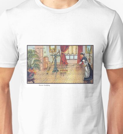 Early 20th Century images of France in 2000 - Automated Cleaning Unisex T-Shirt