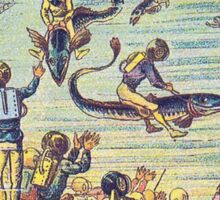 Early 20th Century images of France in 2000 - Underwater race Sticker
