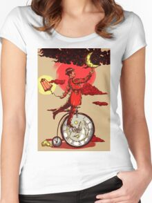 Solving Time  Women's Fitted Scoop T-Shirt