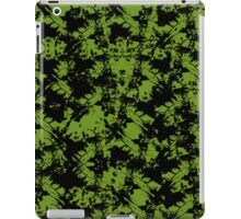 Black Splatter iPad Case/Skin