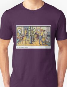 Early 20th Century images of France in 2000 - Barber Unisex T-Shirt