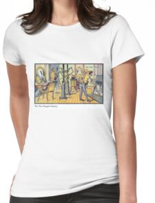 Early 20th Century images of France in 2000 - Barber Womens Fitted T-Shirt