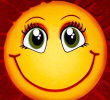 Smiley Sun by Sotiris Filippou