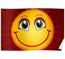 Smiley Sun Poster