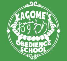 Kagome's Obedience School Kids Tee