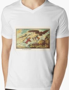 Early 20th Century images of France in 2000 - Young Robbers Mens V-Neck T-Shirt