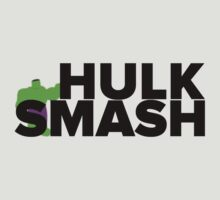 Hulk Smash! In Black by Sophie Beresford