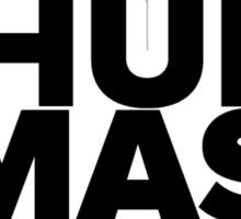 Hulk Smash! In Black Sticker