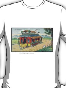 Early 20th Century images of France in 2000 - Mobile Home T-Shirt